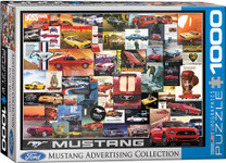 Puzzle - Mustang Vintage Ads - 1000 Pieces
