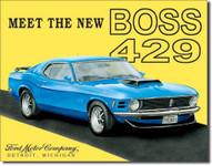 BOSS 429 Tin Sign