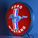 "LED Sign - Ford Mustang 15"" LED Backlit Sign"