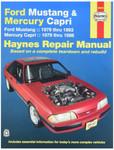 Haynes - Repair Manual  Mustang and Mercury Capri, 1979-1993