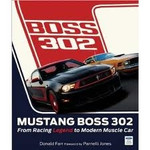 AUTOGRAPHED! Mustang Boss 302 Book, by Donald Farr, Parnelli Jones