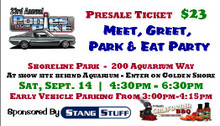 2019 Single MEET & GREET TICKET For Ponies at the Pike. Sat, Sept 14, 2019