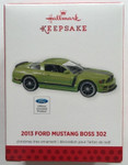 2013 Hallmark Ornament - 2013 Mustang Boss 302