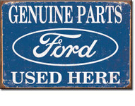 Ford Genuine Parts Used Here Magnet