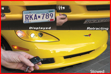 Retractable License Plate - Powered