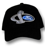 SVT Shelby Mustang Cobra Snake Hat - Black