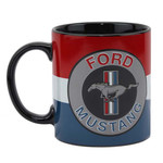 Mustang Tribar Logo - 16oz. Coffee Mug