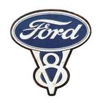 Ford V8 Embossed Magnet