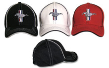Mustang Flex Fit Hat - 3 Colors to Choose