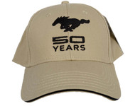 Mustang 50 YEARS Hat in Bone Tan