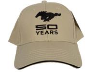 Mustang 50 YEARS Hat in Bone Tan