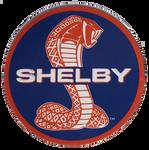 Shelby Cobra Round Embossed Tin Magnet