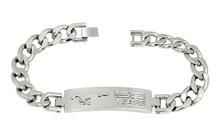 Bracelet - 50 YEARS Mustang Chrome on Chrome