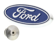 Blue Ford Oval Lapel Pin
