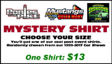 Mystery Shirt - Past Car Show Apparel - 1 Shirt