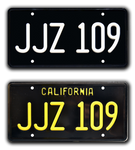 JJZ 109 BULLITT License Plates - TWO PACK COMBO  Special Price!