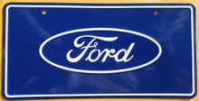 Ford Logo License Plate