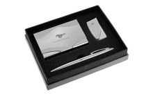 Mustang Chrome Curve Line Gift Set In Deluxe Box