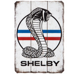 Sign - Shelby Logo Wood Wall Decor - Last Ones!