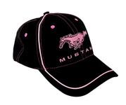 Black / Pink Mustang Hat