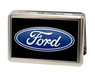 Business Card Holder - LARGE - Ford Oval Logo