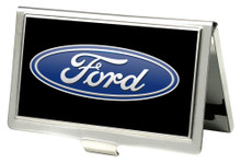 Business Card Holder - SMALL - Ford Oval Logo