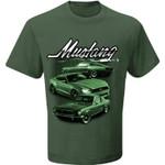 BULLITT Mustang T-Shirt - Green