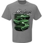 BULLITT Mustang T-Shirt - Grey