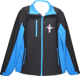 Mustang Soft Shell Jacket * Blue Accents