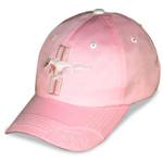 Pink Mustang Tri-Bar Hat