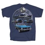 Feeling Blue! Mustangs Through The Years T-Shirt