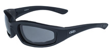 Kickback Sunglasses - Smoke Lenses - Foam Padded