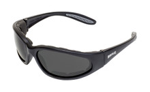 Hercules 1 Plus Sunglasses - Smoke Anti-Fog Lenses (Safety)