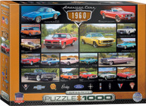Puzzle - American Cars of the 1960s - 1000 Pieces