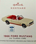 2019 Hallmark Ornament - 1966 Mustang Lil' Classic Cars Ornament