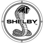 """12"""" SHELBY Cobra Steel Disc in B&W"""