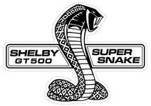 Shelby GT 500 Super Snake Steel Sign 19""