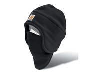 Carhartt2-In-1 Fleece Cap & Mask - Black