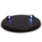 LED Light Base with USB - Blue Light