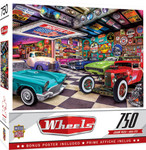Puzzle - Collector's Garage - 750 Piece Shelby Jigsaw Puzzle