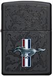 Mustang - Black Matte ZIPPO Lighter