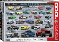 Puzzle - Ford F-Series Evolution - 1000 Pieces