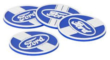 Coaster 4-Pack - Ford Blue Oval
