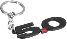 Key Chain - 5.0 Mustang Logo * Black Style