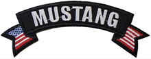 """Patch - Mustang Banner & Flags 5"""""""