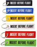 Key Chain - Insert Before Flight