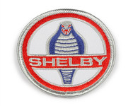 "Patch - Shelby Cobra Red & Blue 2.5"""