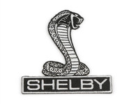 Patch - Shelby Cobra Die Cut 3""