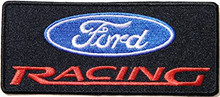 Patch - Ford Racing Rectangle 4.5""