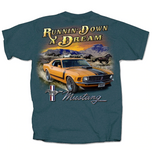 Runnin' Down A Dream BOSS Mustang T-Shirt